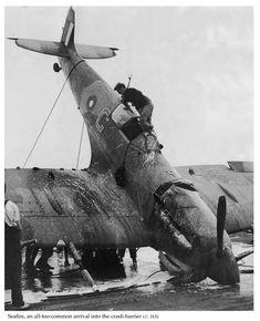 Supermarine Seafire: Variants — Armoured Aircraft Carriers in World War II Royal Navy Aircraft Carriers, The Spitfires, Supermarine Spitfire, Flight Deck, Ww2 Aircraft, World War Ii, Fighter Jets, Evolution, Arm