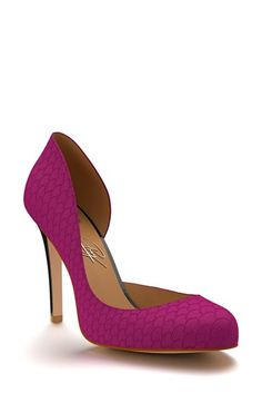 Shoes+of+Prey+Fish+Scale+Half+d'Orsay+Pump+(Women)+available+at+#Nordstrom