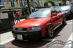 Red wagon allroad Audi Wagon, Wagon Cars, Audi A6 Allroad, A4 Avant, Sports Wagon, Audi Sport, Audi Cars, Custom Cars, Roads