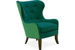 Lee Industries - Chair 1304-01 CHAIR OVERALL  W30D34H41 INSIDE  W22D23H22   SEAT HT  19 ARM HT  23 BACK RAIL HT  41