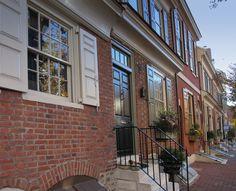 Seventeenth century huses Philadelphia