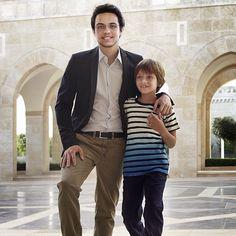 Prince Hussein & Prince Hashem of Jordan.