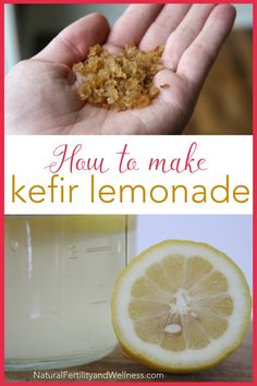 Instead of making lemonade full of sugar, try this version made with probiotic water kefir. It's sweet enough for cravings and healthy for you too! Kefir lemonade will become one of your new favorite drinks.