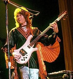 Chris Squire with a Rickenbacker 4001