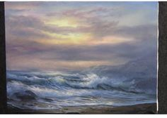 Can you hear the crashing wave? Come watch Kevin bring you straight to the waters edge!  To create your own seascape paintings go to www.paintwithkevin.com for DVDs, brushes and paint!
