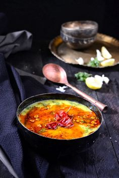 Lahsuni Palak Dal is delicious lentil based, authentic Indian dishes that brings goodness of spinach, garlic together as a humble accompaniment. Lentil Recipes, Veg Recipes, Indian Food Recipes, Vegetarian Recipes, Cooking Recipes, Healthy Recipes, Ethnic Recipes, Dal Recipe, Desi Food