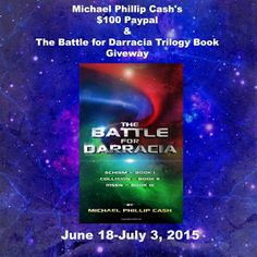 Reading Authors: #Giveaway: Michael Phillip Cash's $100 Paypal & Darracia Series