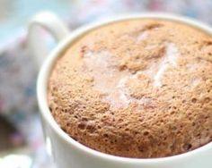 Mug cake light au café