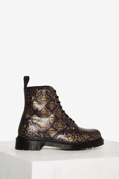 Dr. Martens 8-Eye Leather Boot - Pascal Baroque - Shoes | Boots + Booties | Grunge