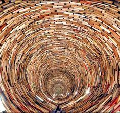 Fancy - Idiom Book Tunnel by Matej Kren