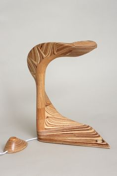 wooden lamp * muren Spoon Rest, Tableware, Dinnerware, Tablewares, Dishes, Place Settings