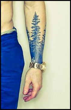 Tree Tattoo designs for Men