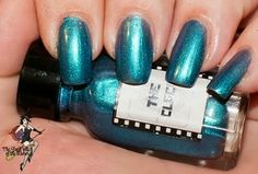 The Clock by Cinema Swatch Lacquer