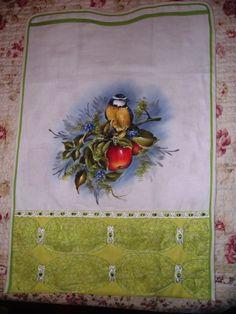 Pássaro e maças...releitura(VENDIDO)