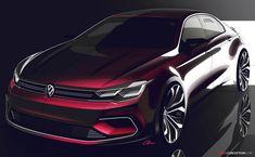 Volkswagen Targets Mercedes with New 'NMC' Concept