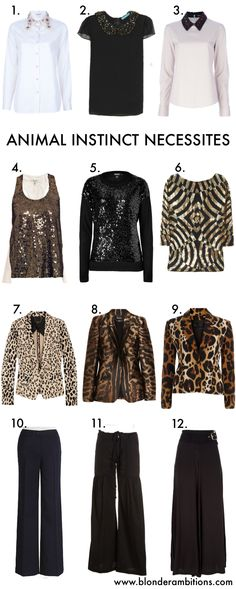 animal instinct. fashion. style. fall. autumn. layering. business appropriate. work look. animal print. #blonderambitions