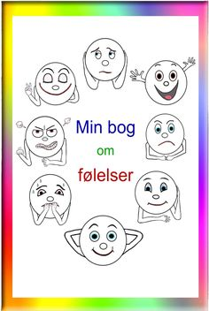 coloring pages - Min bog om følelser Bubbleminds Calm Down Kit, Lds Coloring Pages, Team Building Games, Teachers Toolbox, Adhd And Autism, Work Activities, Helping Children, Circle Time, Make Happy
