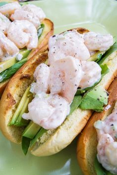 Cold Shrimp Scampi Rolls - Home - Sweetbites Blog...LOVE scampi HOT..LOVE it COLD....awesome recipe!!!