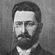 """This is a picture of Joseph Pulitzer, a Hungarian immigrant, who bought and ran the New York World in 1883. Papers were mass circulated as they became easier to produce. This paper became famous for its Sunday evening edition and its emphasis on """"sin, sex, and sensation."""""""
