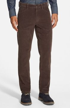 Nordstrom Straight Leg Corduroy Pants available at #Nordstrom
