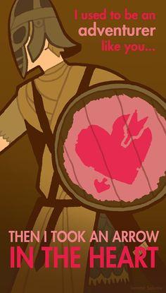 Skyrim Valentine!! #skyrim #dawnguard #hearthfire