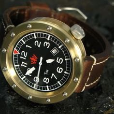 Berkbinder & Brown - T46 V2 (variant 2) Bronze Tool Watch w/ ETA 2824-2 Movement