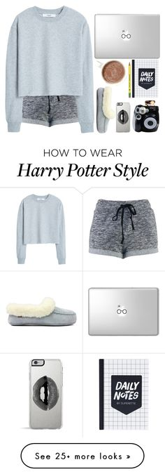 """""""Lazy Day"""" by cautionelmo on Polyvore featuring MANGO, Polaroid and Lipsy"""