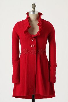 Alice in Autumn Sweatercoat - anthropologie.com