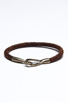 Crescent Leather Bracelet - Lauren, don't we have this bracelet?