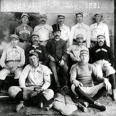 Caldwell Baseball Champions 1891  shared by IconicIdaho.com