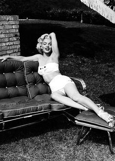 Marilyn Monroe by Mischa Pelz, 1953
