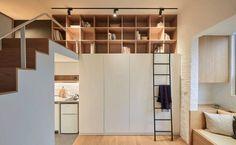 Архитекторы A Little Design выполнили перепланировку маленькой студии площадью 22 квадратных метра в Тайбэе, Тайвань. Учитывая рост цен на недвижимость, молодым людям все чаще приходится довольствоваться весьма скромными квартирами.