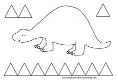 12 Meilleures Images Du Tableau Activité Dinosaure Et Préhistoire