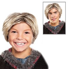 Clumsy Lover Boy Kristoff Style Costume Wig Kristoff Style Wig For Adults and Kids