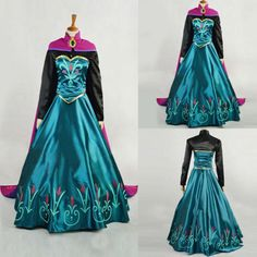 >> Click to Buy << New Style Princess Anna Dress Cloak Suit Cosplay Costume For Adult Dress olaf snowman new halloween #Affiliate