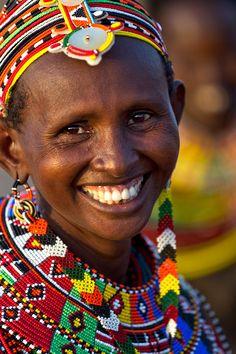 Africa   Woman from the Rendile tribe. Kenya   © Johan Gerrits