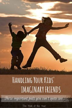 Handling Your Kids Imaginary Friends can be tricky. Here are some tricks and tips to help you navigate your kid's friends--the ones you can't see.