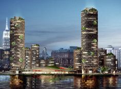 DFA proposes an unsinkable mixed-use complex for the future pier 40 in new york | Netfloor USA