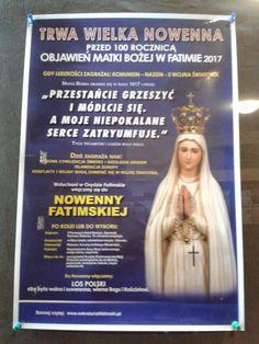 Trwa Wielka Nowenna przed 100 Rocznicą  Objawień Matki Bożej w Fatimie 2017