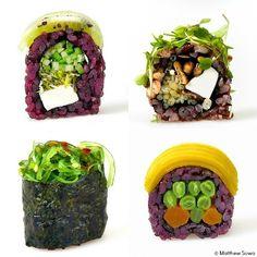 PETA's Top 10 Restaurants for Vegan Sushi: Beyond Sushi #vegan #sushi #yum
