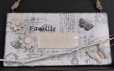 Vintage Türschild