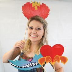 Photo Booth Partyrequisiten von Alice im Wunderland