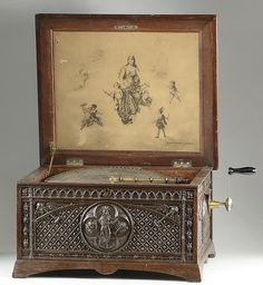 REGINA DISC MUSIC BOX, The Regina Music Box Co., - O'Gallerie | Artfact