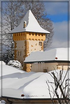 Winter in La Chaux-de- Fonds Switzerland: La Tour de guet . | Flickr: Intercambio de fotos