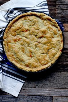 Turkey Pot Pie (grain-free, nut-free, dairy-free) - zenbelly