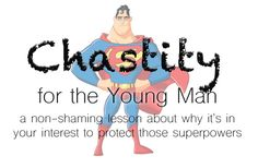 Chastity lesson for young men