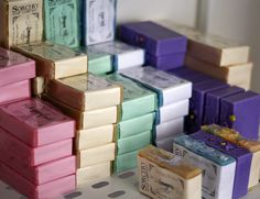 Stacks of Sorcery... Soap! http://sorcerysoap.com/product/magic-soap-box-may/