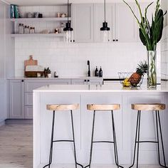 Our tractor stools as featured by @threebirdsrenovations are now available in grey and white finishes. In stock and ready to add style to your kitchen #ozdesignfurniture #threebirdsrenovations #tractorstools #kitchenstools #style #kitchen #home #takeaseat #design #modernhamptons #industrial #interiordesign #FF #tagforlikes