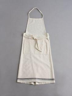 White apron | Stripe | limilee: