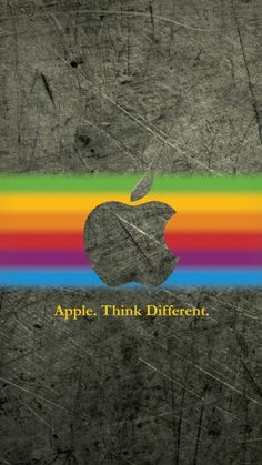 Apple Wallpapers For iPhone 6 11 Apple Logo Wallpaper Iphone, Apple Wallpaper, Mobile Wallpaper, Wallpaper Backgrounds, Cool Apple Logo, Apple Images, Apple Background, Apple Decorations, Colorful Wallpaper